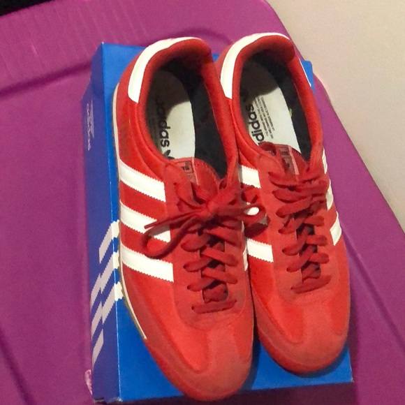 Red Adidas Sneakers (Dragon OG)